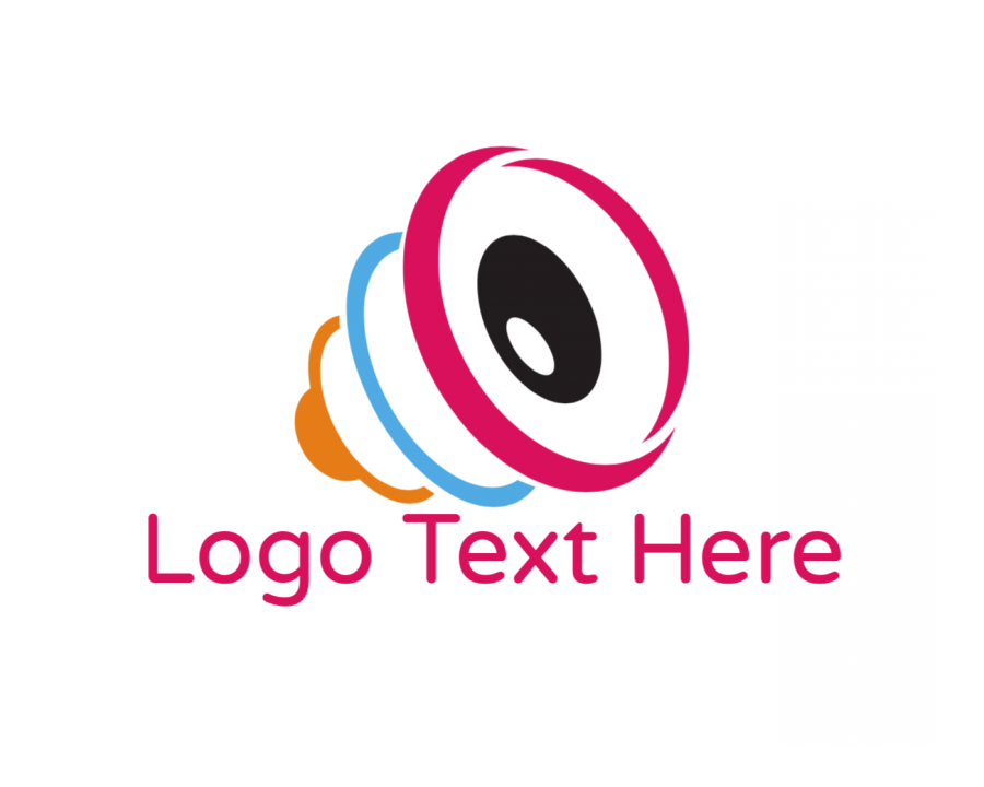 Audio Logotype with Media and Modern elements