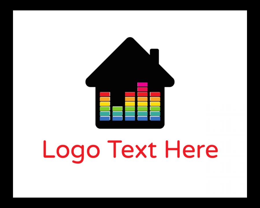Radio Logo Designer with Dj and Music elements