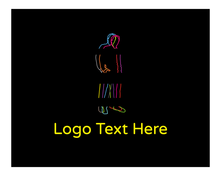 Man Logo generator online with Entertainment and Fashion elements