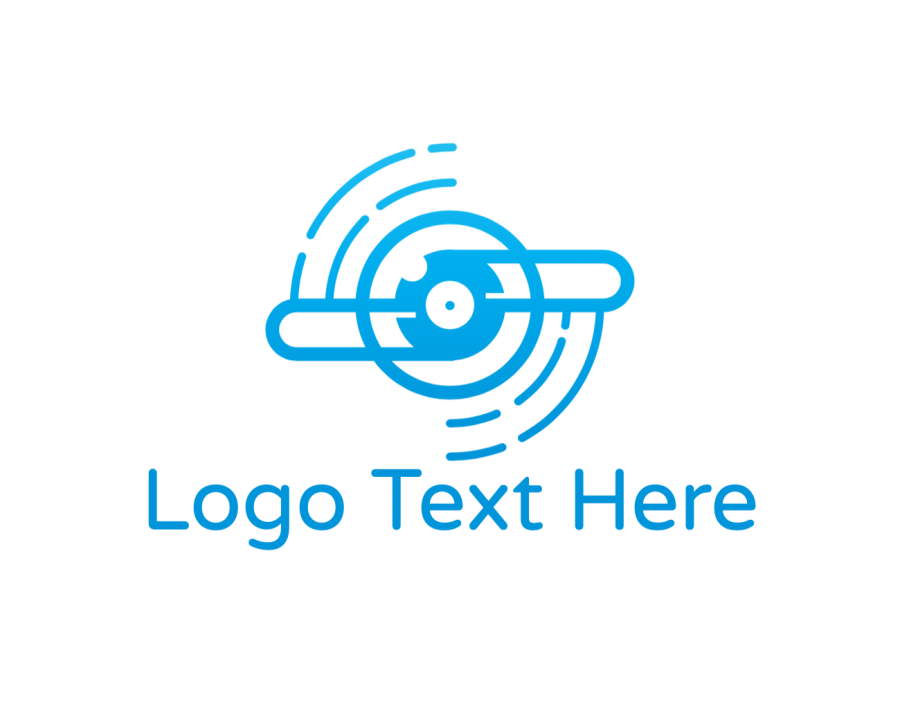 Outline Logotype creator with Shape and Music elements