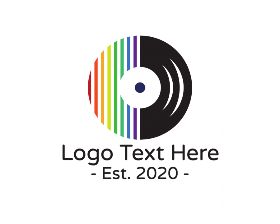 Song Logo Designer with Musician and Music elements