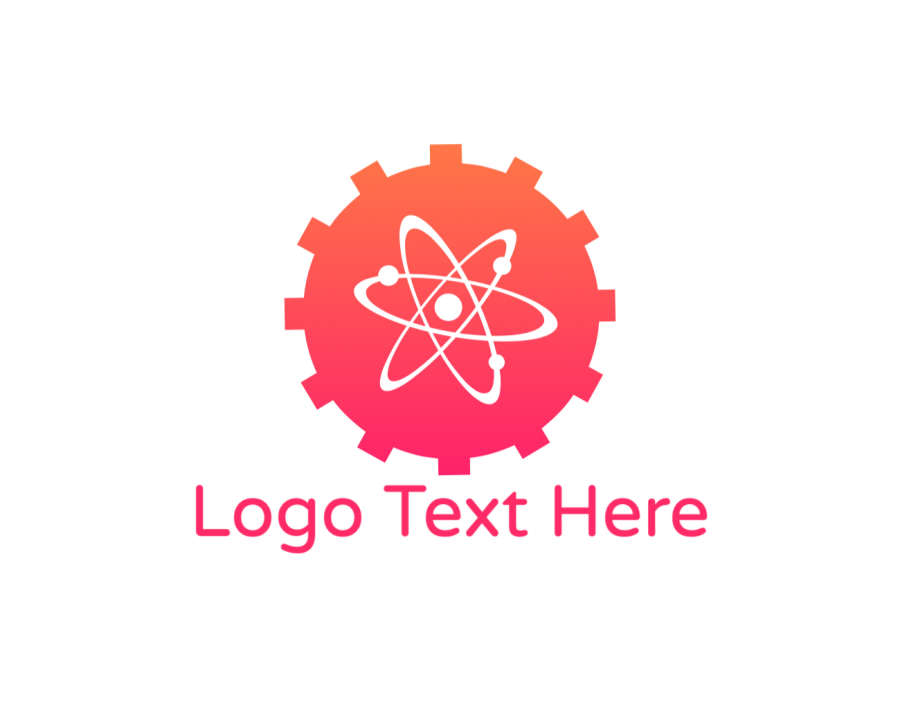Gear Logo generator online with Innovation and Education elements
