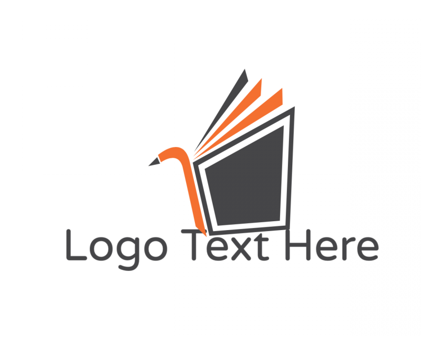 Read Online logo generator with Stationary and Education elements