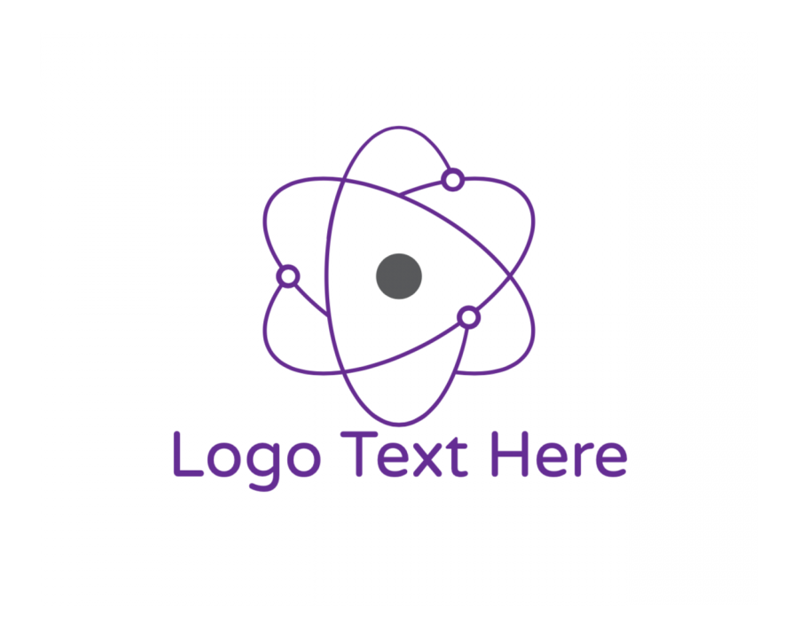 Biology Online logo template with Innovate and Purple elements