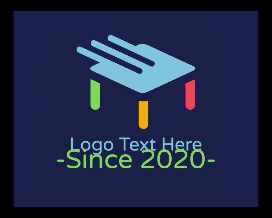 Nursery Logo Designer with Children and Handwritten elements