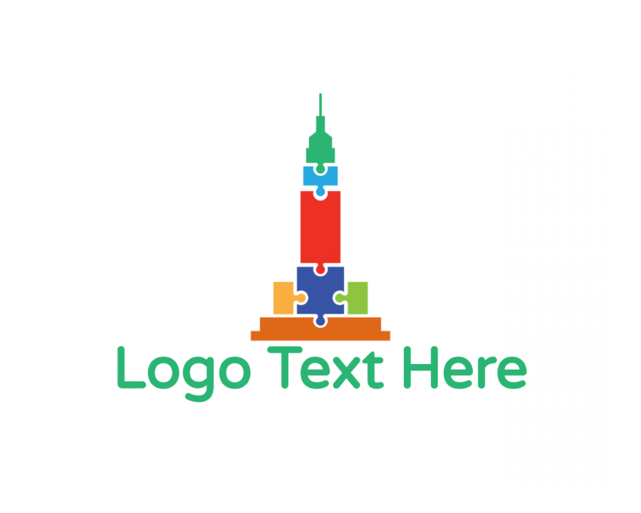 America Logo design with Tour and Colorful elements