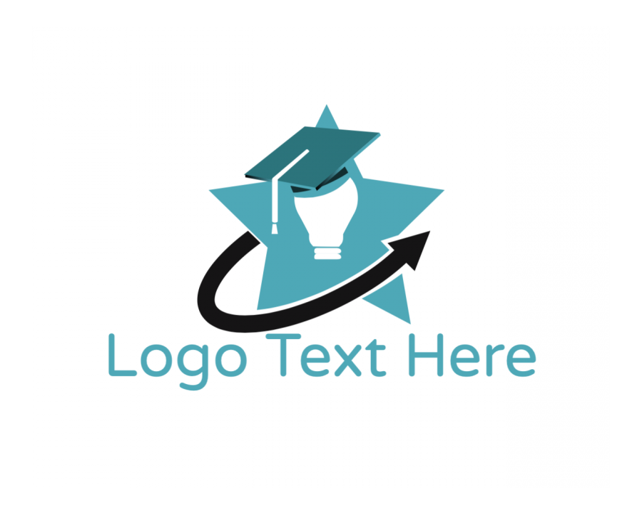 Blue Star Logo symbol with Light and Blue elements