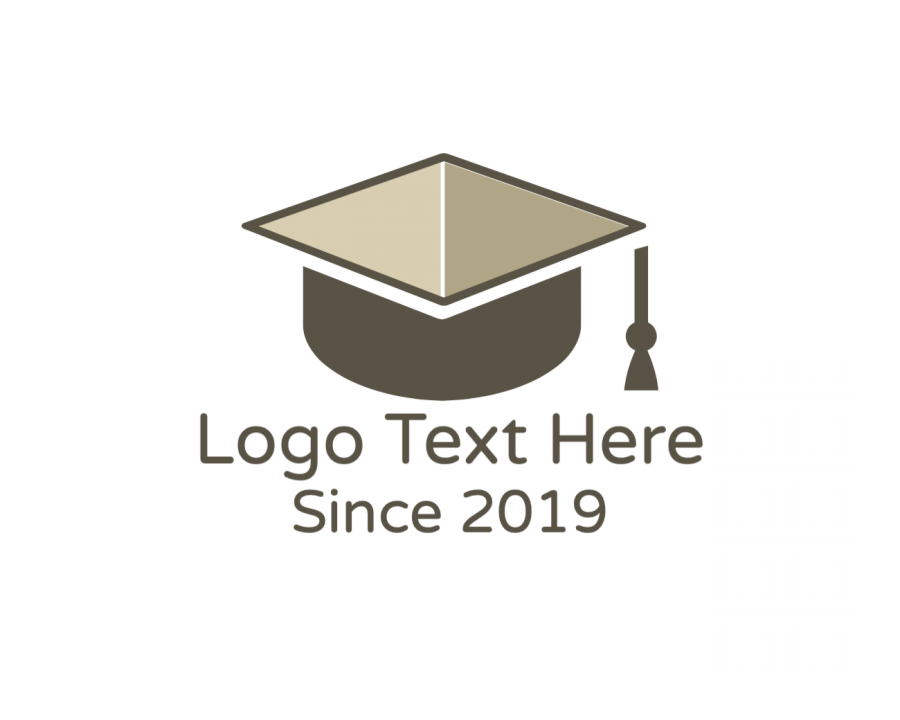 Graduate Online logo template with Graduation and Education elements