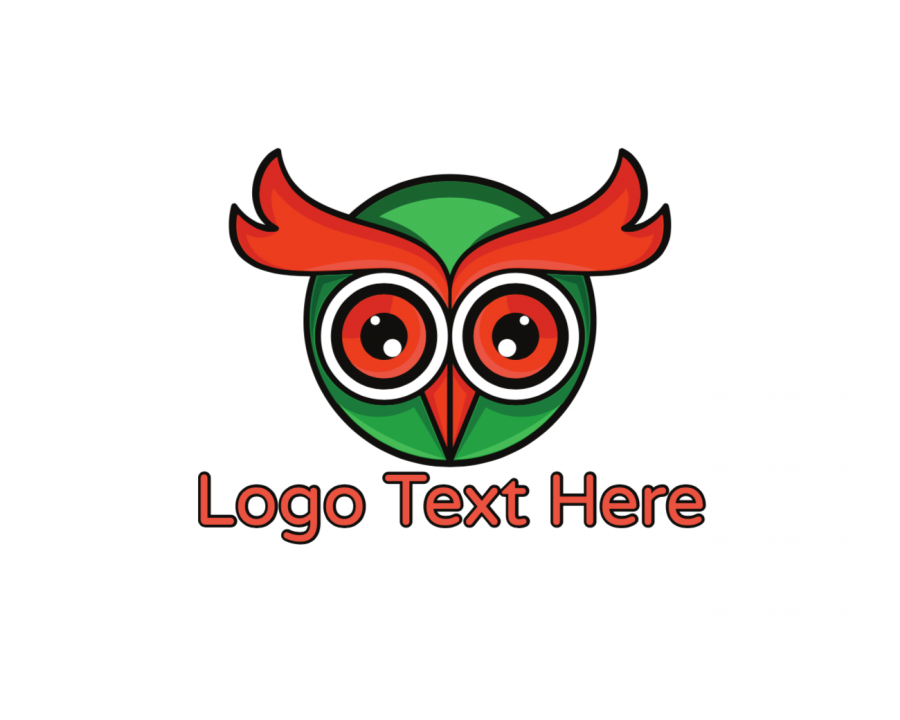 Head Online Logo Generator with Character and Circle elements