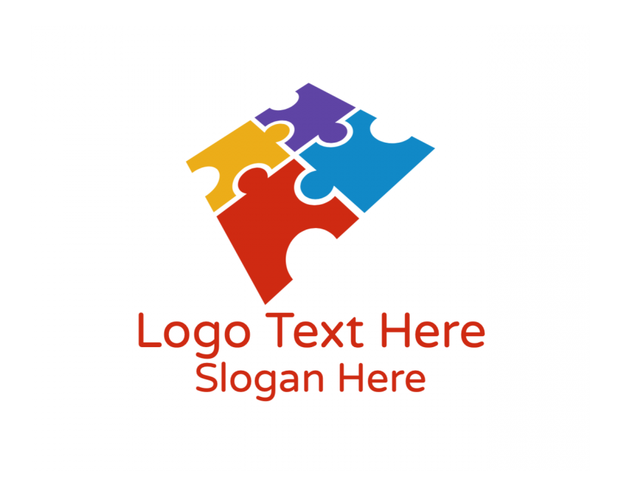 Learning Logo Template free with Toy and Gaming elements