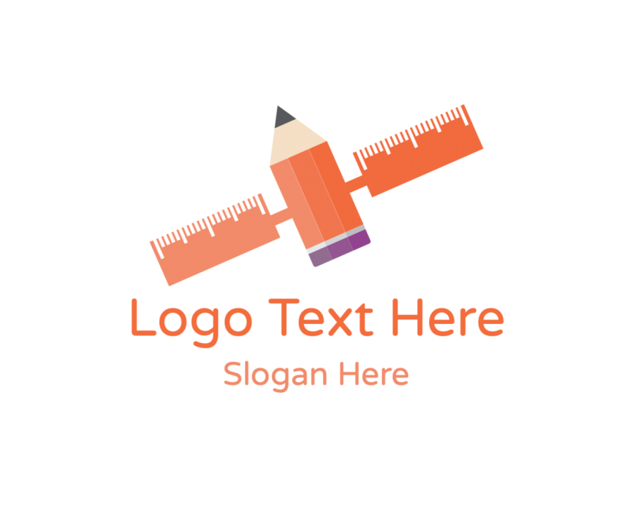 Rocket Logo design with Space and Education elements