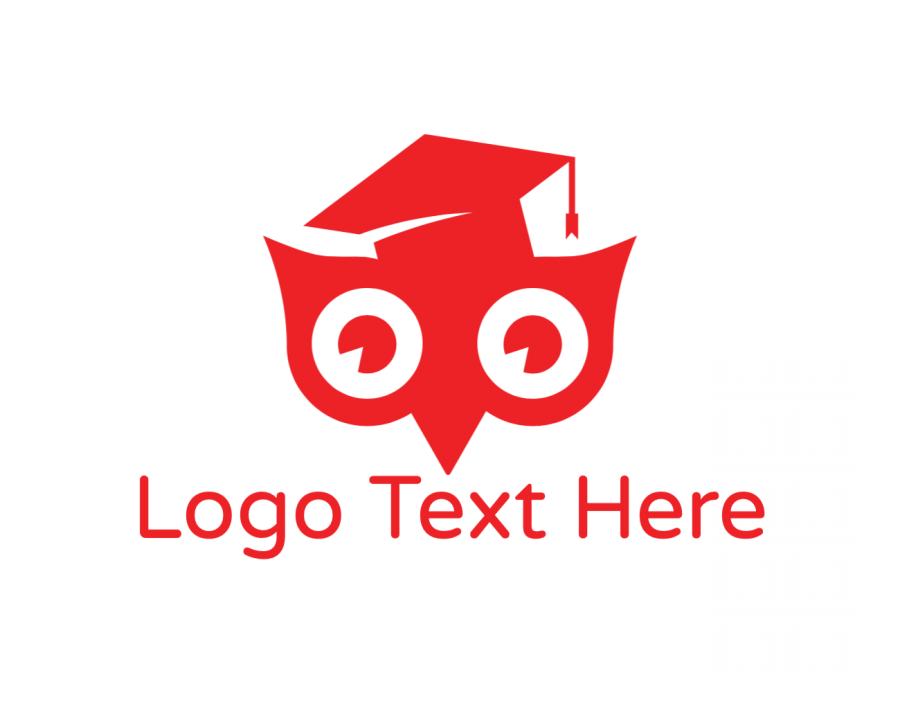 Study Logo Template free with Nocturnal and Animal elements