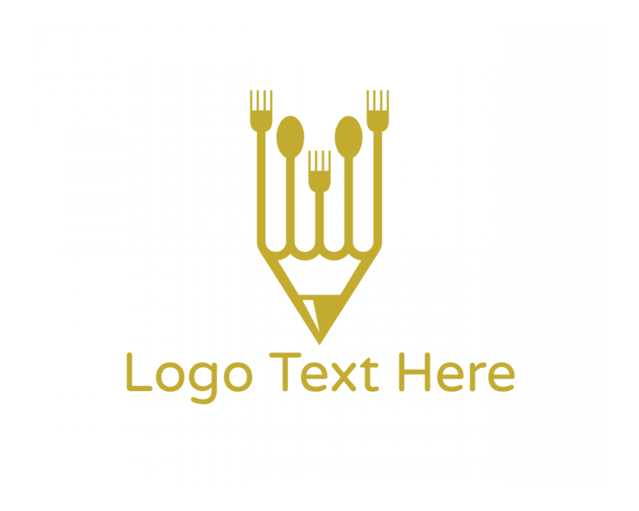 Gourmet Logo Designer with Chef and Golden elements