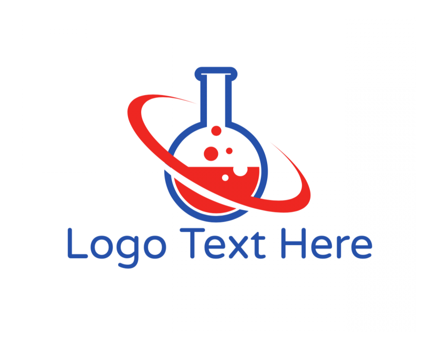 Experiment Logo generator online with Scientist and Education elements