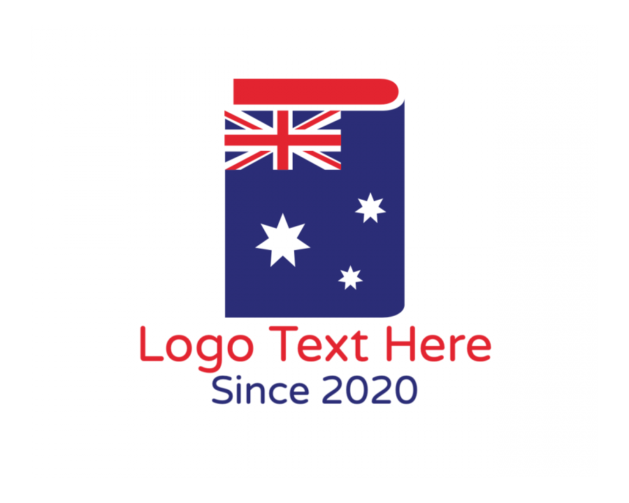 Country Online logo generator with Blogger and Education elements
