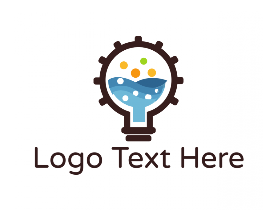 Lab Online logo template with Laboratory and Technology elements
