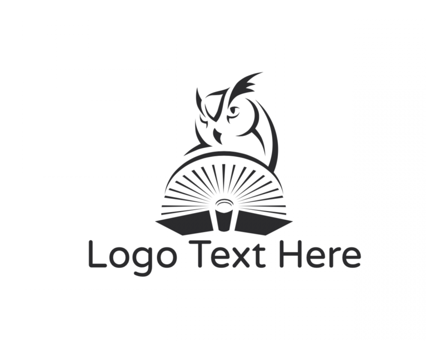 Read Logo Maker with Black And White and Education elements