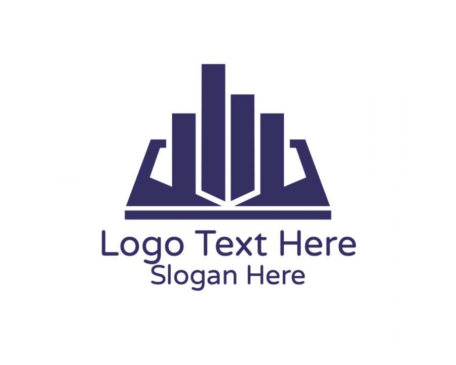 Education Logo design with Construction and Modern elements