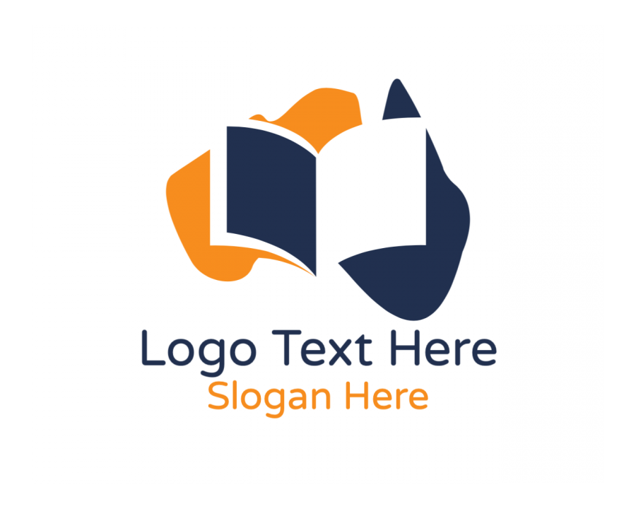 Country Online logotype maker with Blogger and Education elements