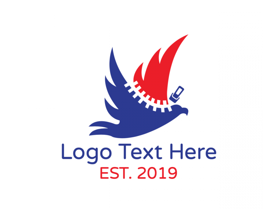 Eagle Online logo generator with Wings and Fashion elements