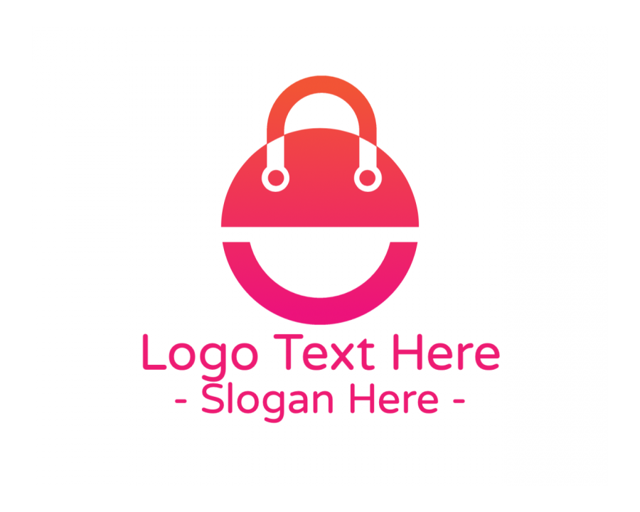 Bag Logo Generator with Shopping and Fashion elements