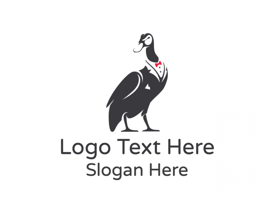 Black And White Online logotype maker with Bar and Fashion elements