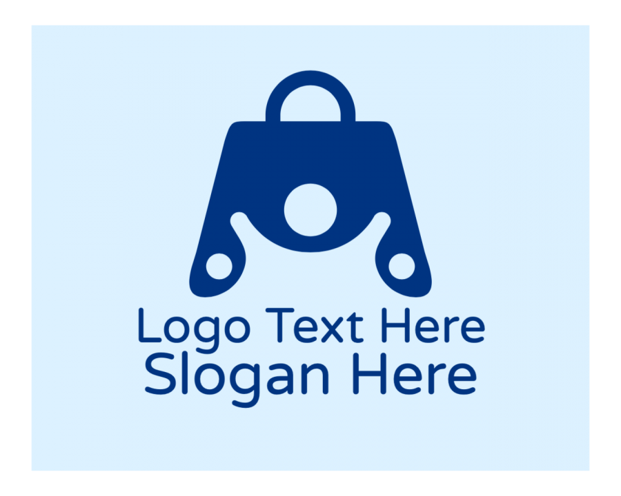 Shop Logotype with Store and Fashion elements