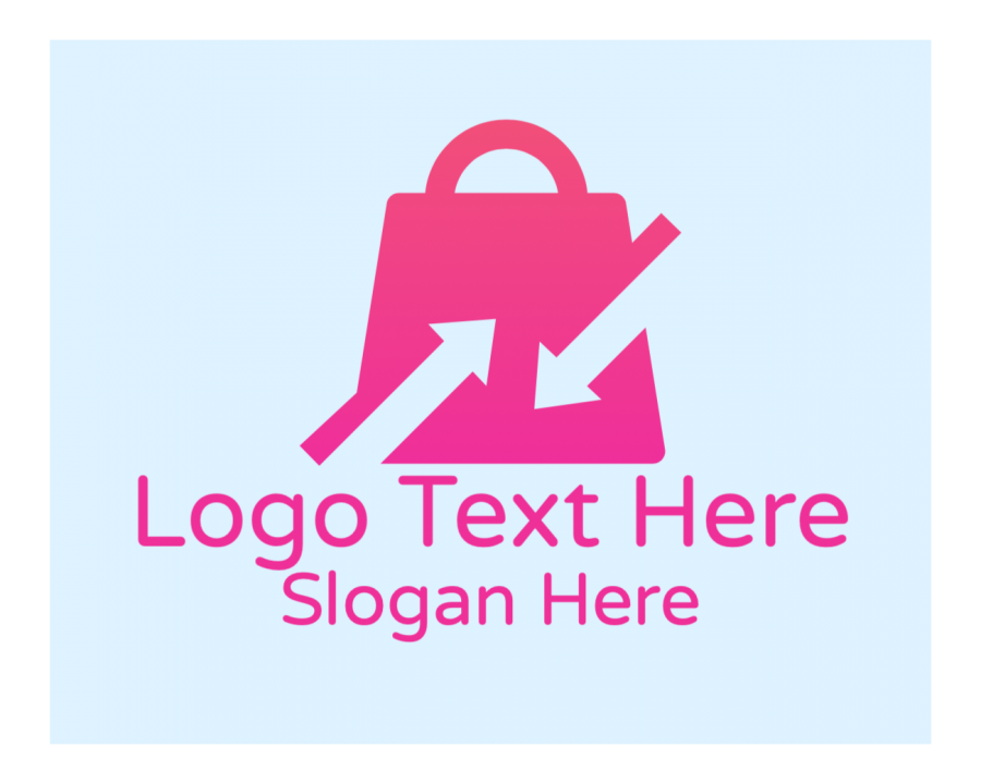 Sale Online Logo Generator with Shop and Fashion elements