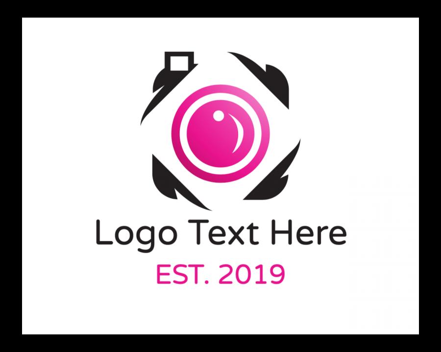 Media Logo design with Feminine and Fashion elements