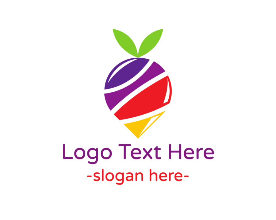 Dessert Logotype with Sweet and Colorful elements