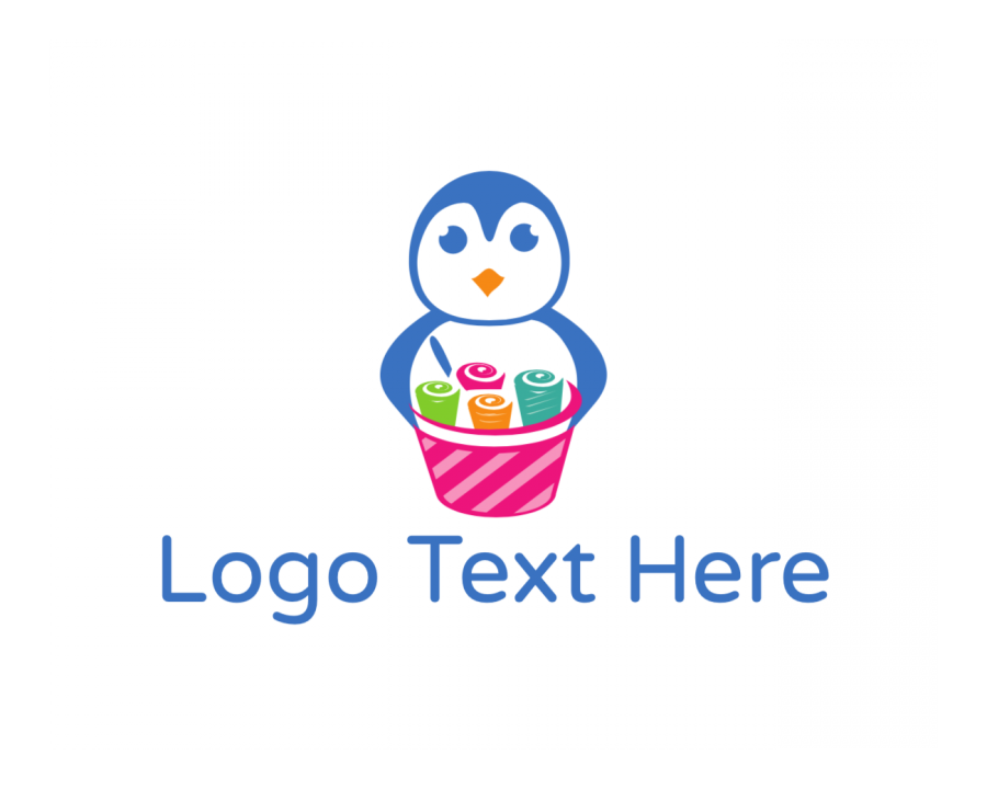 Roll Logo design with Playful and Animal elements