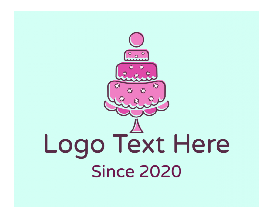 Bakery Logo Designer with Birthday and Pink elements