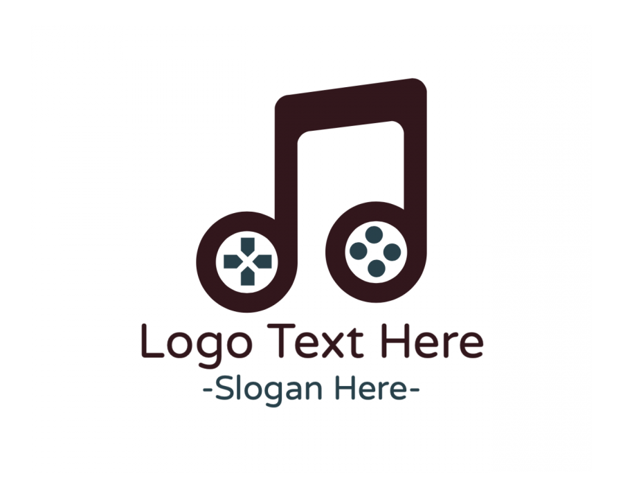 Musical Online Logo Generator with Playstation and Gaming elements