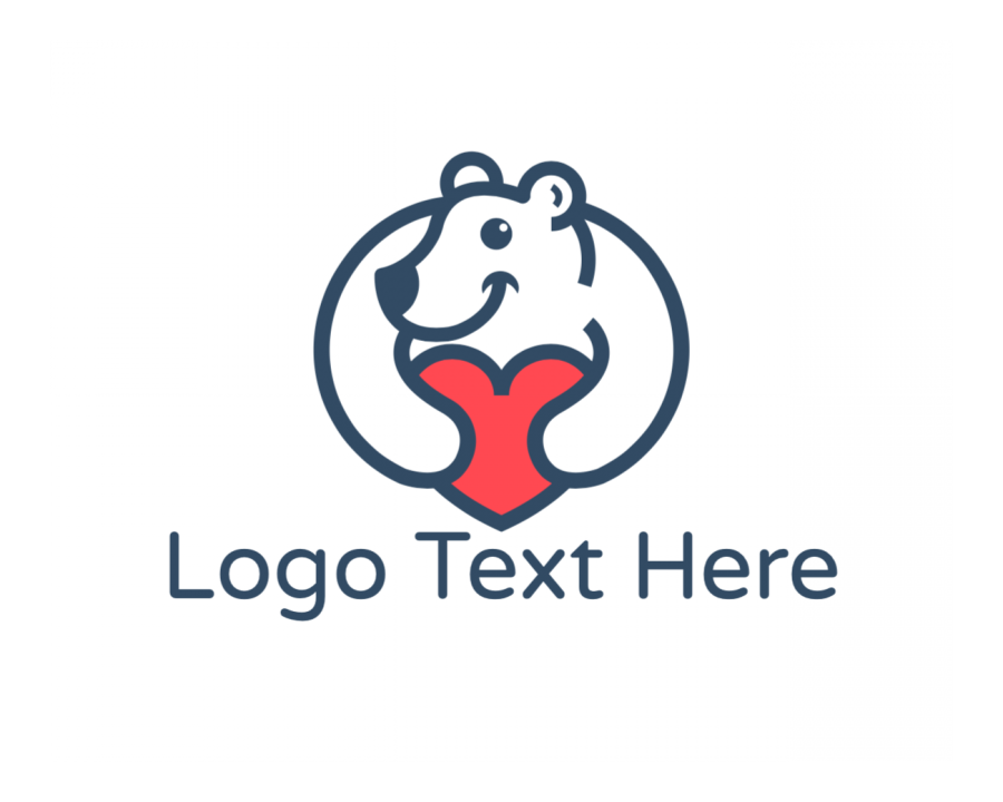 Charity Logotype with Cute and Animal elements