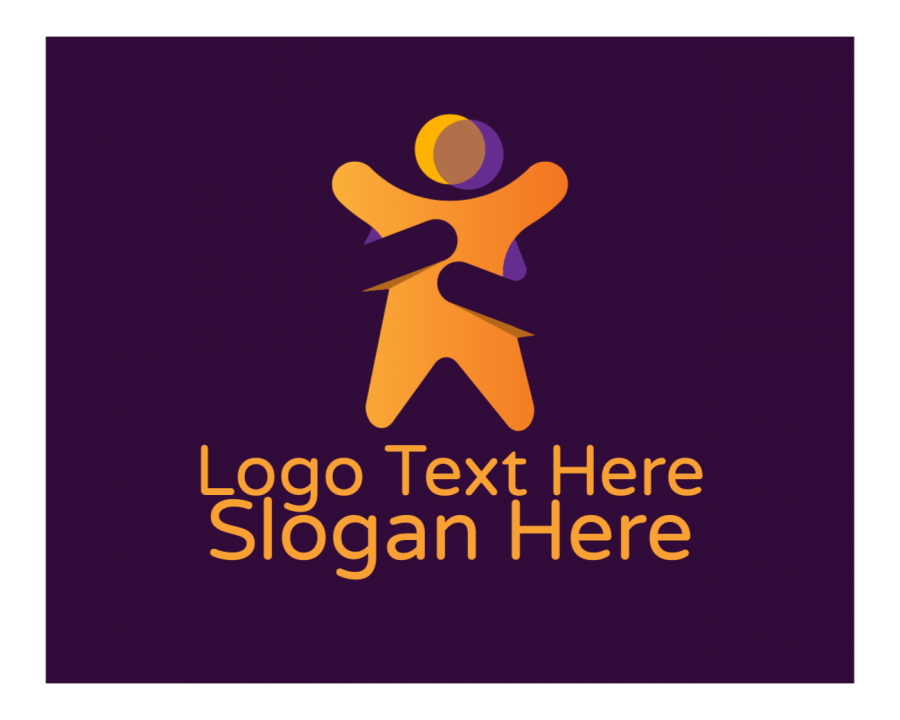 Love Free logo design with People and Business elements
