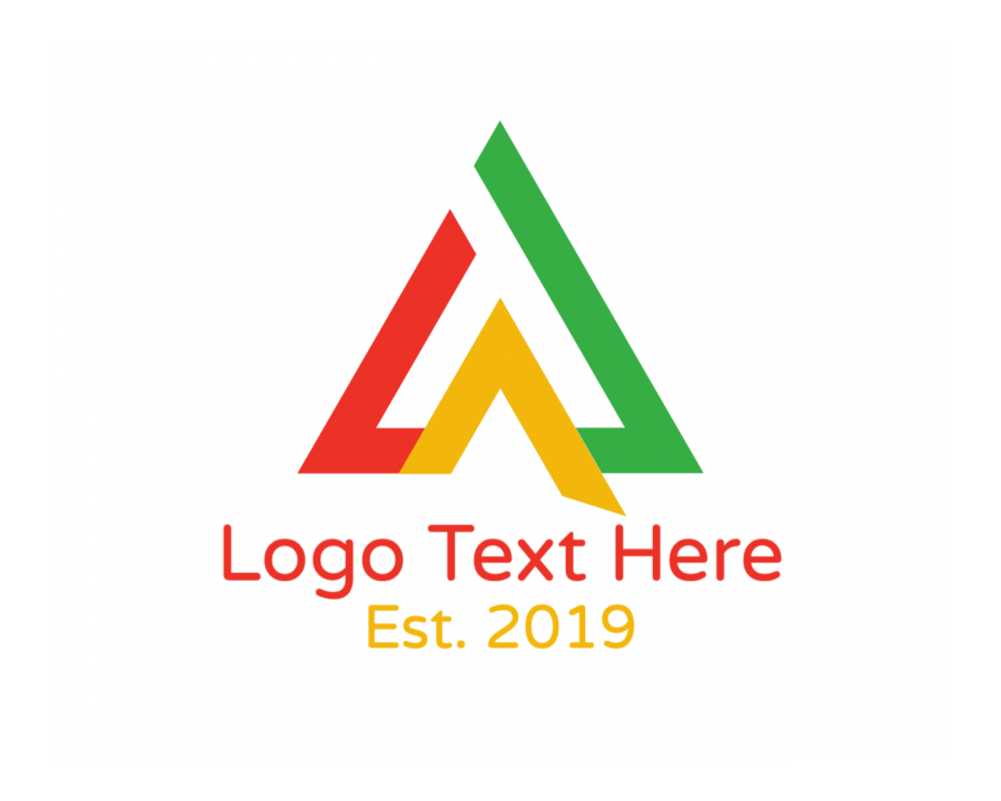 Initial Free logo creator with Construction and Lettermark elements