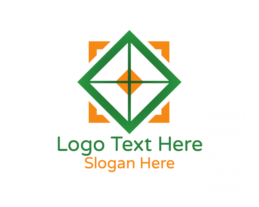 Furniture Online Logo Generator with Cross and Box elements