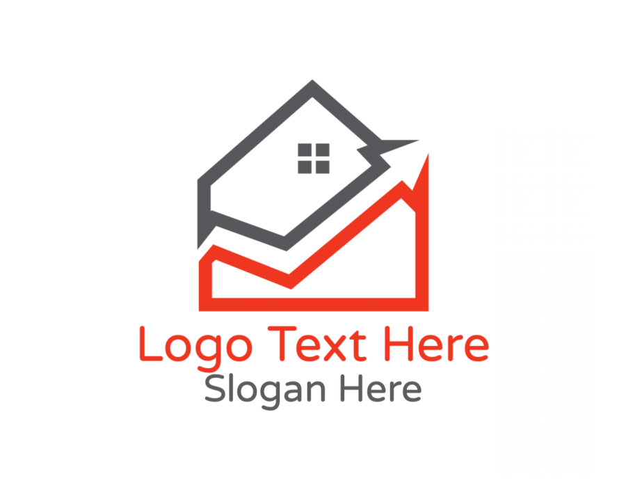 Property Logo Creator with Real Estate and Arrow elements