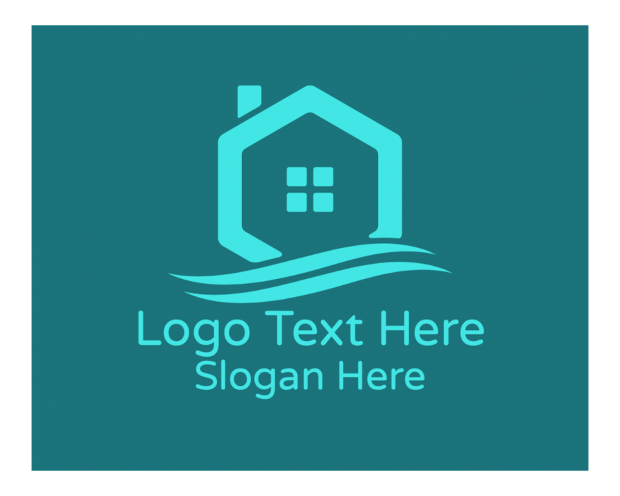 Real Estate Online logo template with Architecture and Investment elements