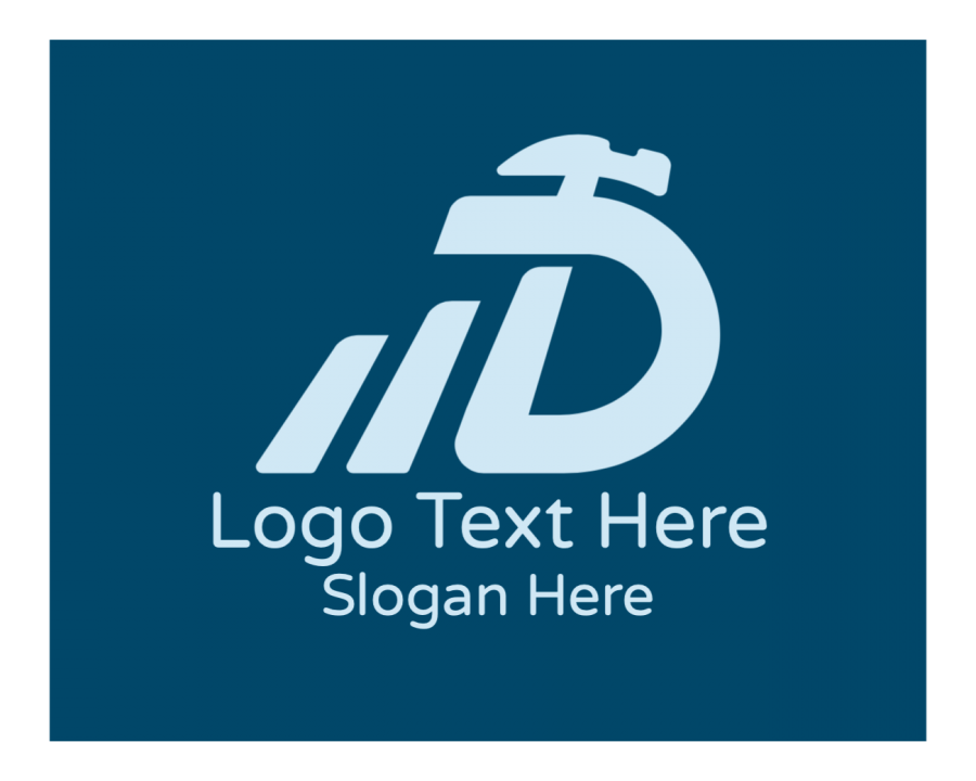 Builder Logo generator online with Realty and Lettermark elements