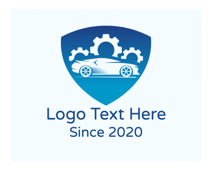 Automobile Online logo template with Mechanic and Gradient elements