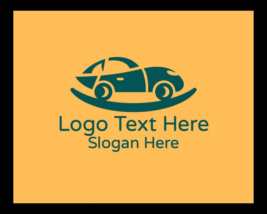 Car Logo design with Illustration and Modern elements