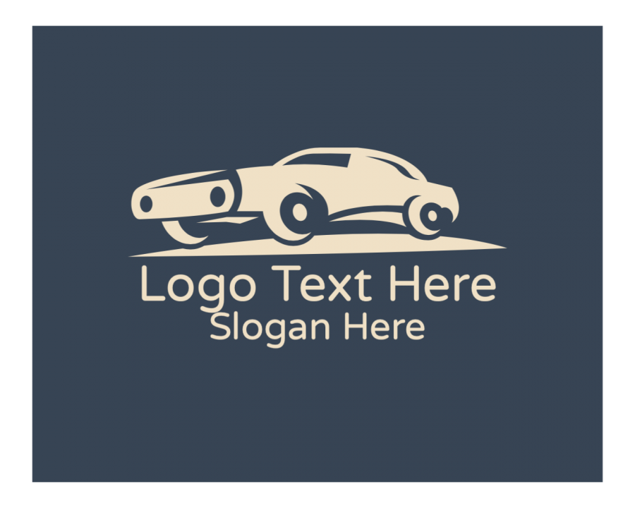 Car Logo symbol with Vintage and Generic elements
