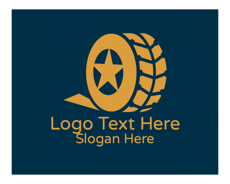Tyre Free logo creator with Tire and Automotive elements
