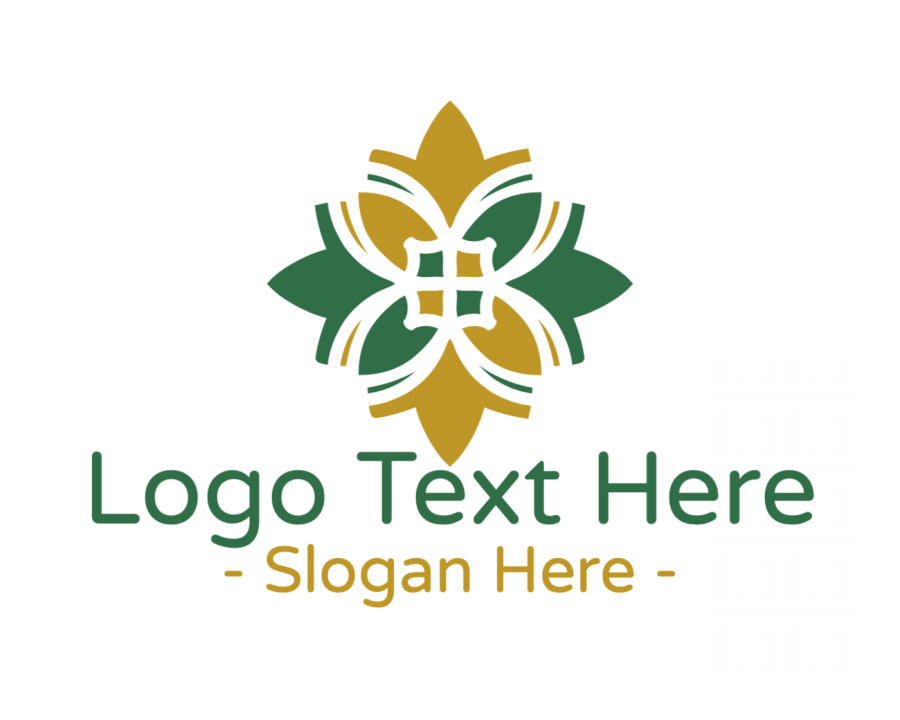 Nature Logo Creator with Ornamental and Spa elements