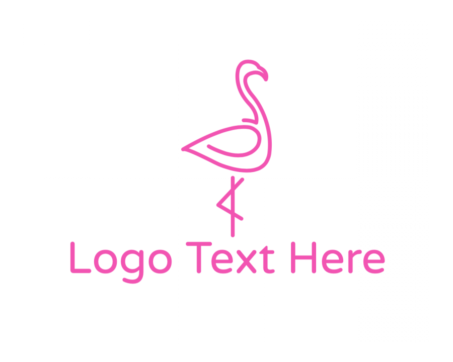 Tropical Logo symbol with Cute and Simple elements