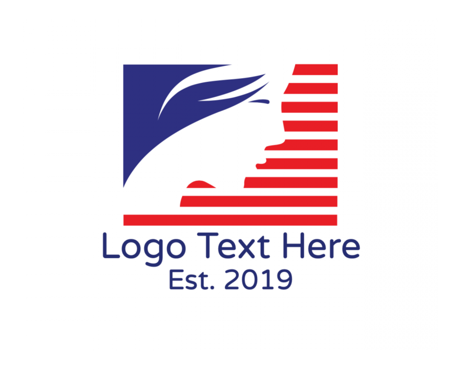 America Logotype creator with Flag and Spa elements