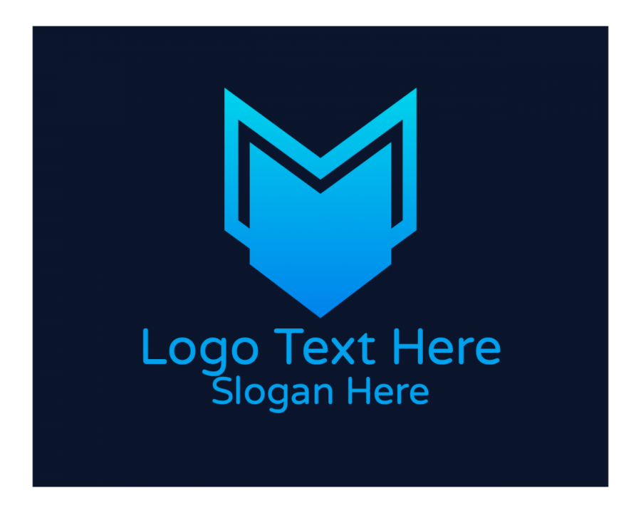 Corporate Free logo design with Marketing and Tech elements