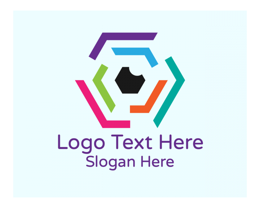 Colorful Logotype with Agency and Modern elements