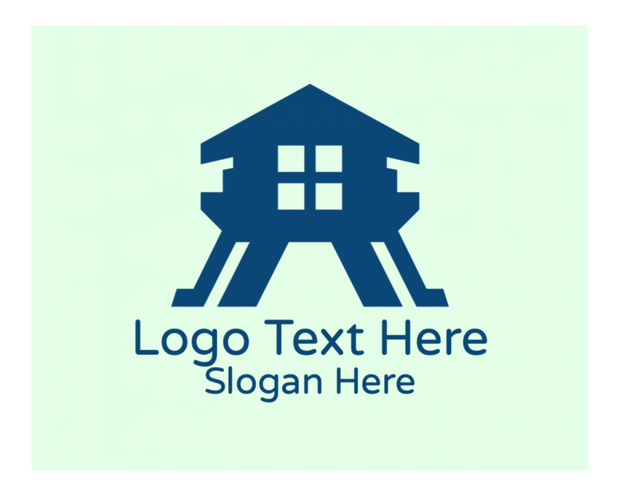 Contractor Logo Generator with Architecture and Lettermark elements